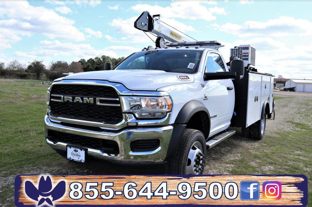 2019 Ram 5500 Regular Cab DRW 4x4, Palfinger PAL Pro 43 Mechanics Body #710618 - photo 35