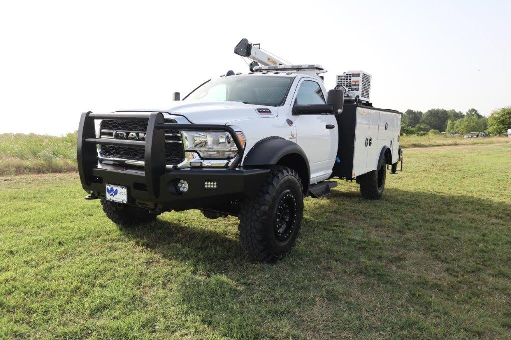 2019 Ram 5500 Regular Cab DRW 4x4, Palfinger PAL Pro 39 Mechanics Body #710620 - photo 5
