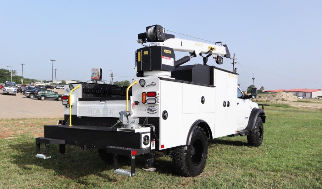 2019 Ram 5500 Regular Cab DRW 4x4, Palfinger PAL Pro 39 Mechanics Body #710620 - photo 8
