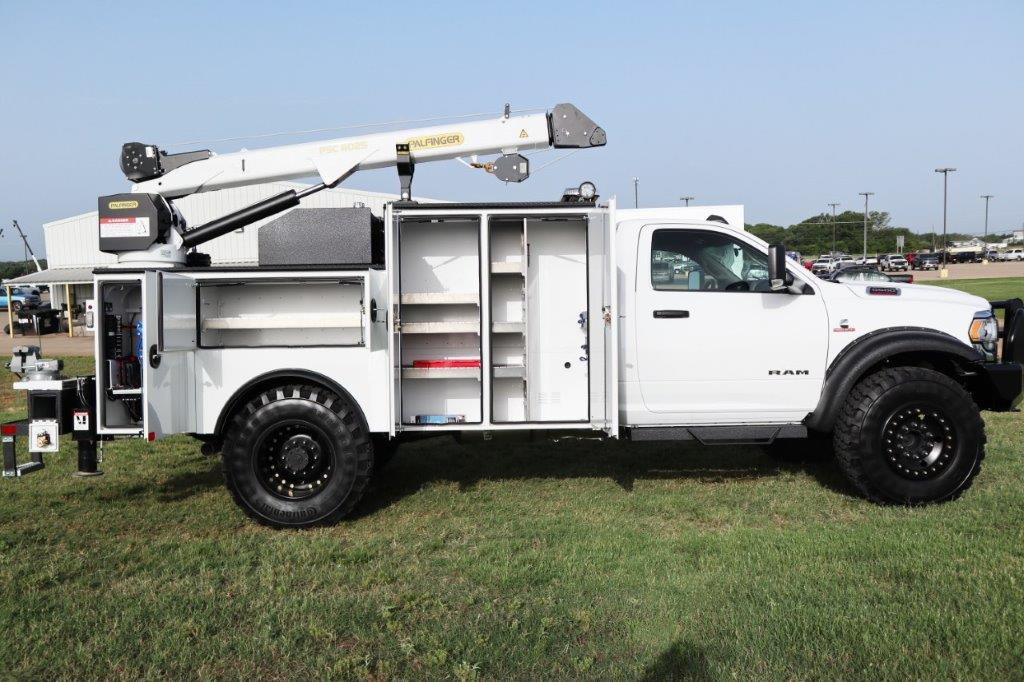 2019 Ram 5500 Regular Cab DRW 4x4, Palfinger PAL Pro 39 Mechanics Body #710620 - photo 46