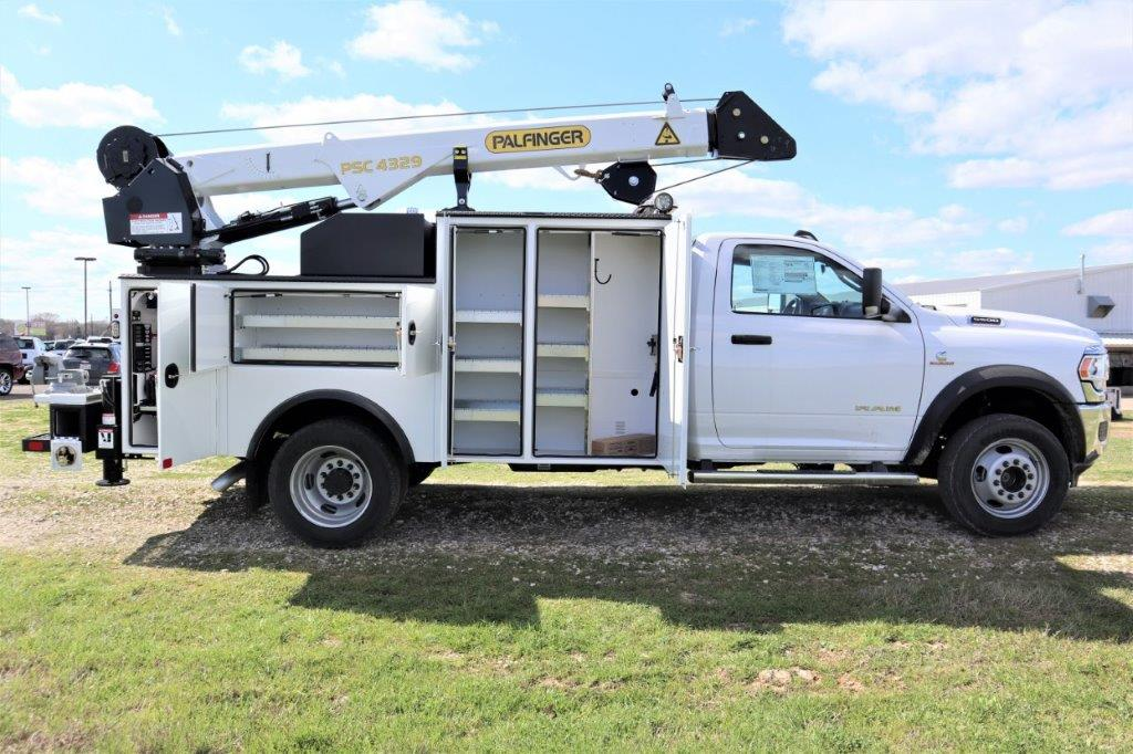 2019 Ram 5500 Regular Cab DRW 4x4, Palfinger PAL Pro 43 Mechanics Body #710623 - photo 26