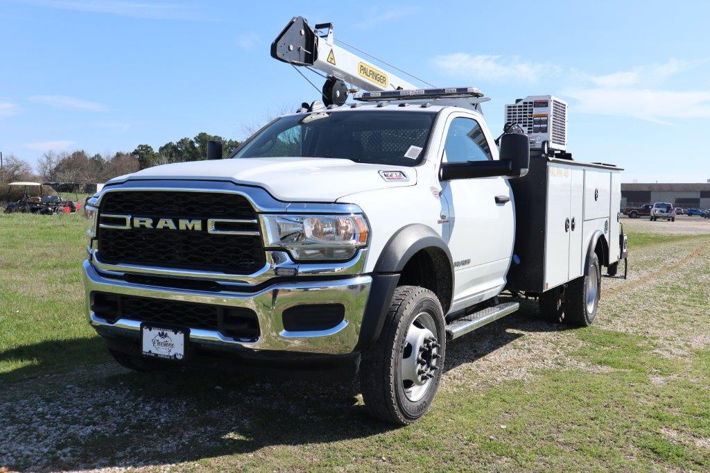 2019 Ram 5500 Regular Cab DRW 4x4, Palfinger Mechanics Body #710680 - photo 4