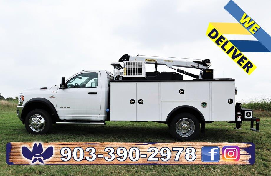 2019 Ram 5500 Regular Cab DRW 4x4, Palfinger Mechanics Body #716110 - photo 1