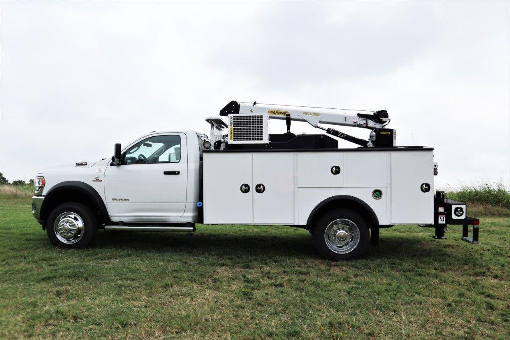 2019 Ram 5500 Regular Cab DRW 4x4, Palfinger PSC 6025 Mechanics Body #716110 - photo 3