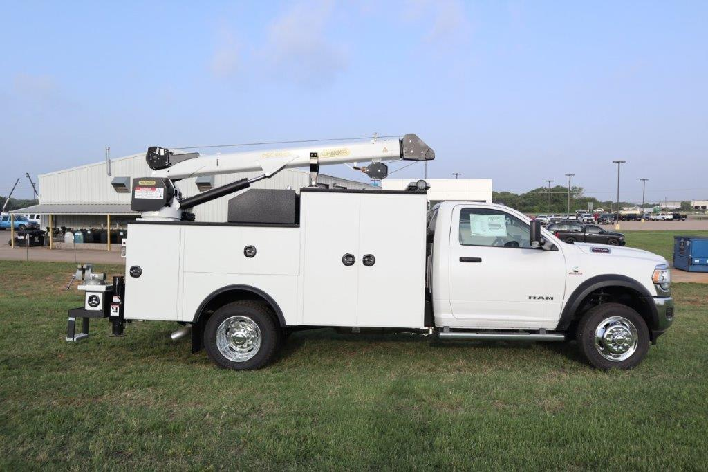 2019 Ram 5500 Regular Cab DRW 4x4, Palfinger PSC 6025 Mechanics Body #716111 - photo 3