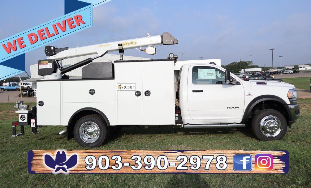 2019 Ram 5500 Regular Cab DRW 4x4, Palfinger PSC 6025 Mechanics Body #716112 - photo 1