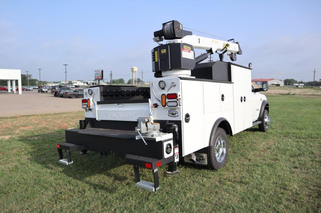 2019 Ram 5500 Regular Cab DRW 4x4, Palfinger PSC 6025 Mechanics Body #716112 - photo 2