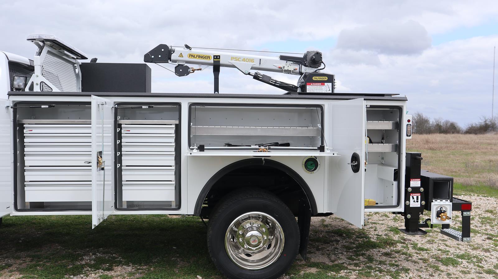 2021 Ram 5500 Regular Cab DRW 4x4, Palfinger PAL Pro 20 Mechanics Body #ST517123 - photo 26