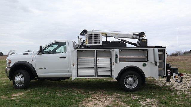 2021 Ram 5500 Regular Cab DRW 4x4, Palfinger PAL Pro 39 Mechanics Body #ST517158 - photo 14