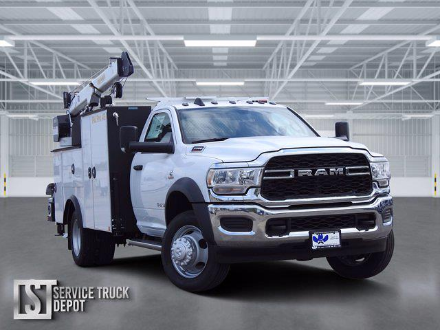 2021 Ram 5500 Regular Cab DRW 4x4, Cab Chassis #ST538699 - photo 1