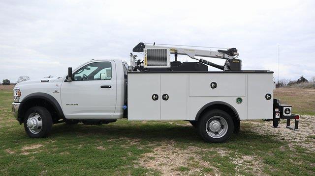 2021 Ram 5500 Regular Cab DRW 4x4, Palfinger Mechanics Body #ST538711 - photo 4