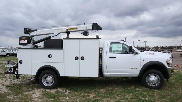 2021 Ram 5500 Regular Cab DRW 4x4, Palfinger Mechanics Body #ST538711 - photo 10