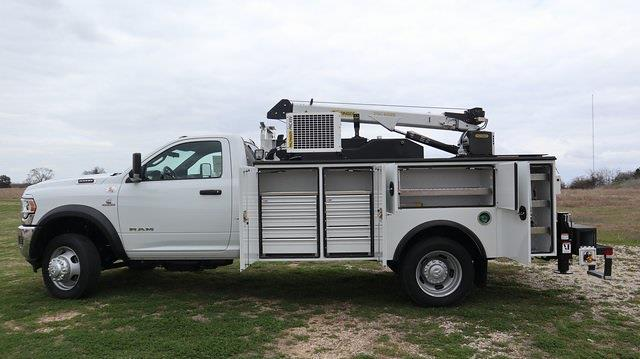 2021 Ram 5500 Regular Cab DRW 4x4, Palfinger Mechanics Body #ST538711 - photo 16