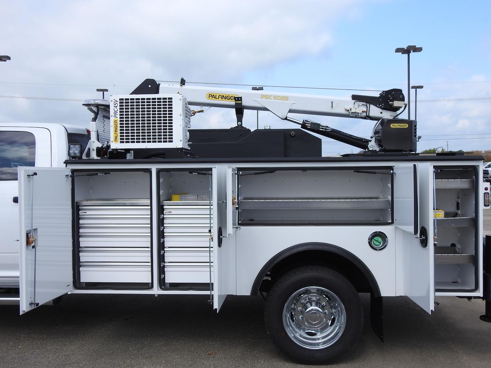 2021 Ram 5500 Crew Cab DRW 4x4, Palfinger PAL Pro 39 Mechanics Body #ST546812 - photo 19