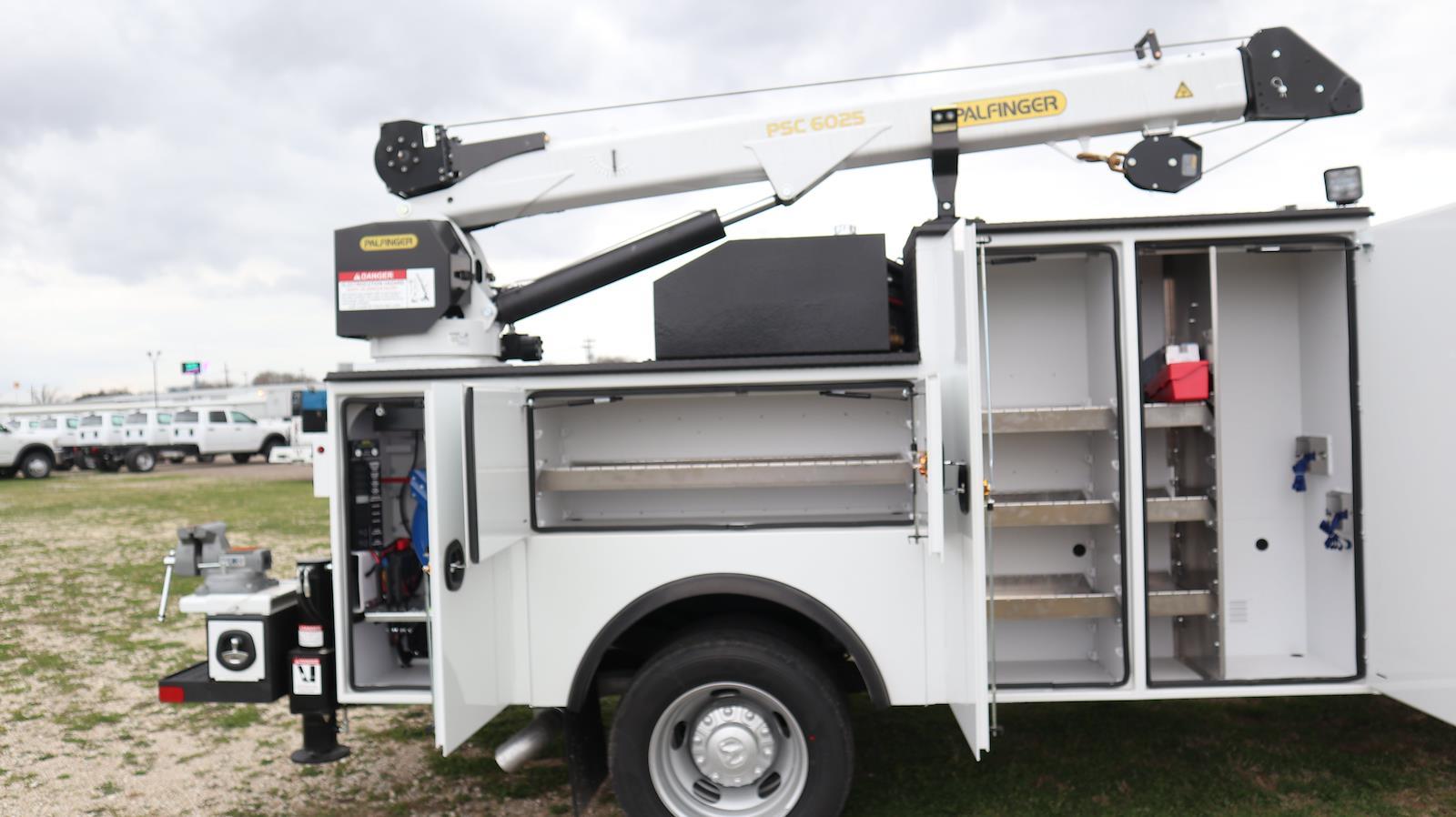 2021 Ram 5500 Regular Cab DRW 4x4,  Palfinger PAL Pro 39 Mechanics Body #ST586158 - photo 36