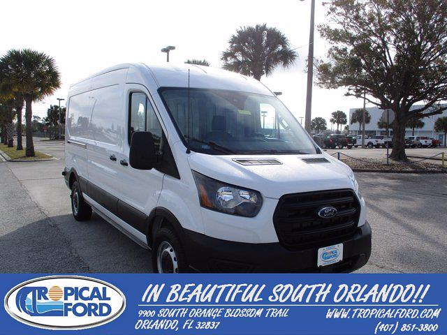 2020 Ford Transit 250 Med Roof 4x2, Empty Cargo Van #T8766 - photo 1