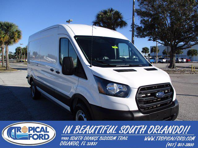 2020 Ford Transit 250 Med Roof 4x2, Empty Cargo Van #T8767 - photo 1