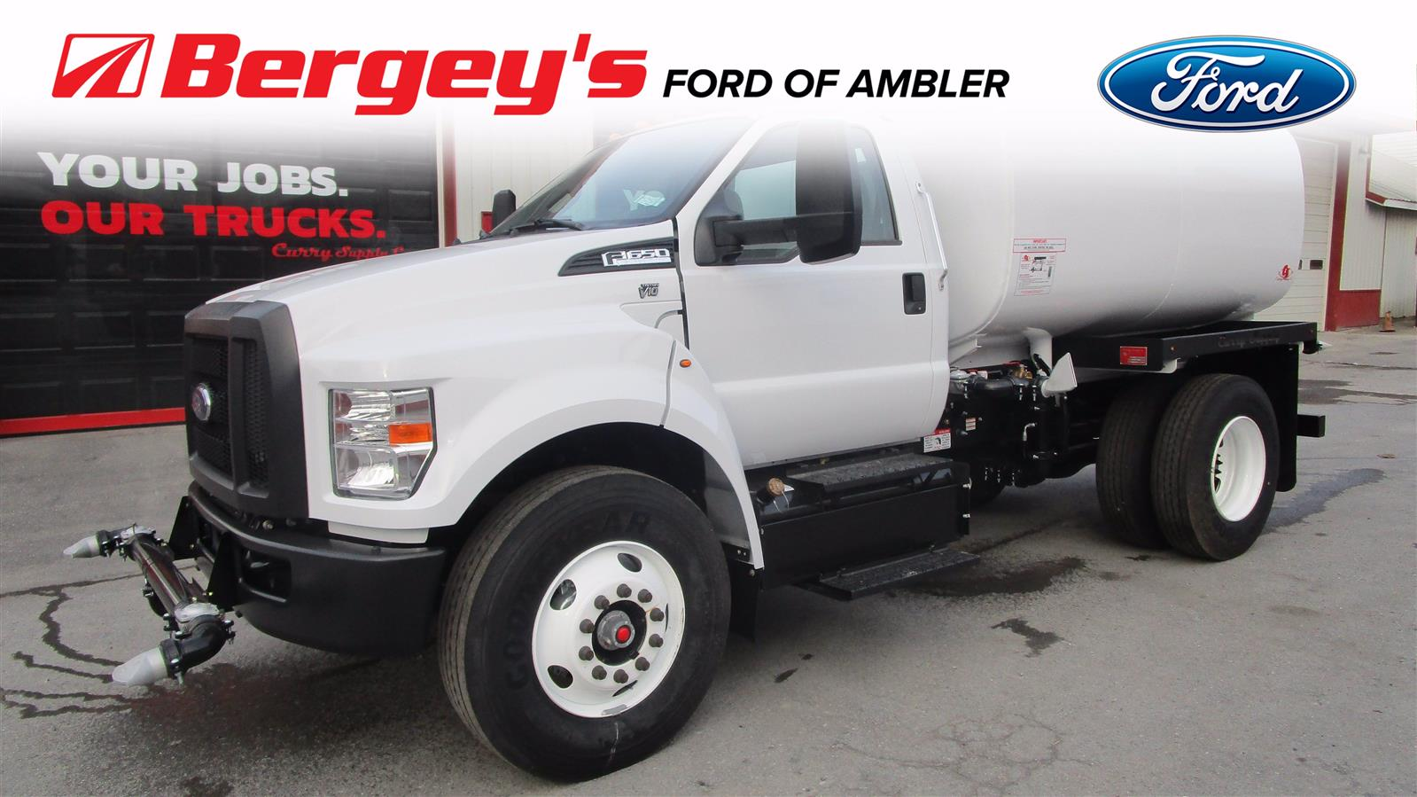 2019 Ford F-650 Regular Cab DRW 4x2, Curry Supply Company Water Truck #BT009 - photo 1