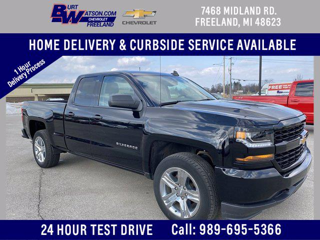 2018 Chevrolet Silverado 1500 Double Cab 4x4, Pickup #107745B - photo 1