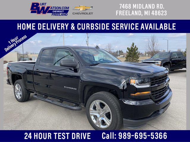 2019 Chevrolet Silverado 1500 Double Cab 4x4, Pickup #179506A - photo 1