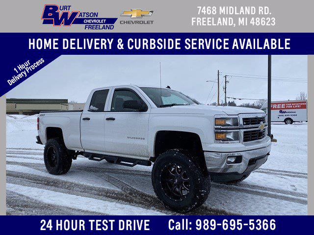 2014 Chevrolet Silverado 1500 Double Cab 4x4, Pickup #348727 - photo 1