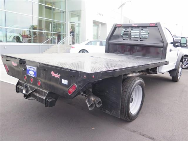 2019 F-450 Regular Cab DRW 4x4,  Rugby Platform Body #F18676 - photo 1