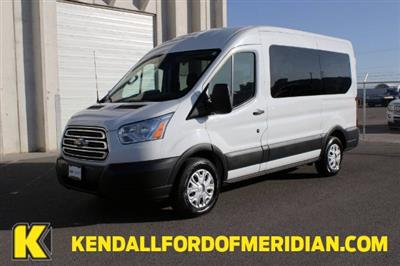 2018 Ford Transit 150 Med Roof 4x2, Passenger Wagon #RC8753 - photo 1
