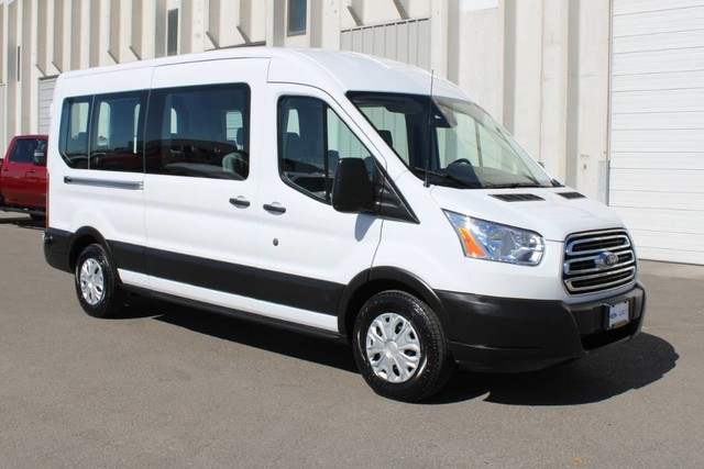 2019 Ford Transit 350 Med Roof RWD, Passenger Wagon #RE8741 - photo 3