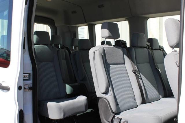 2019 Ford Transit 350 Med Roof RWD, Passenger Wagon #RE8741 - photo 5