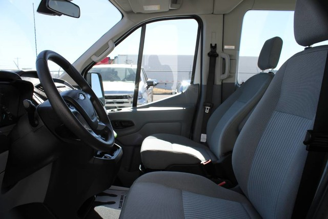 2019 Ford Transit 350 Med Roof RWD, Passenger Wagon #RE8741 - photo 7