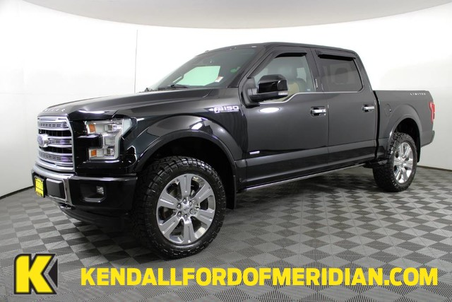 2017 Ford F-150 SuperCrew Cab 4x4, Pickup #REW1012 - photo 1