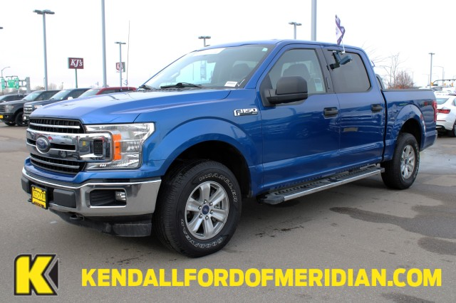 2018 Ford F-150 SuperCrew Cab 4x4, Pickup #REW1211 - photo 1