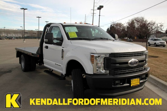 2019 F-350 Regular Cab DRW 4x4,  Bedrock Diamond Series Platform Body #RN17969 - photo 1