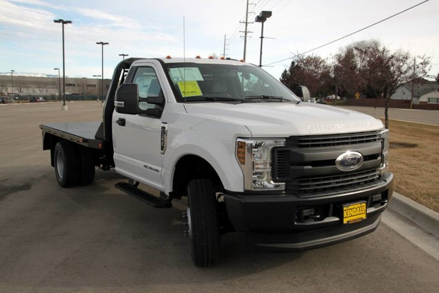 2019 F-350 Regular Cab DRW 4x4,  Bedrock Diamond Series Platform Body #RN17969 - photo 3