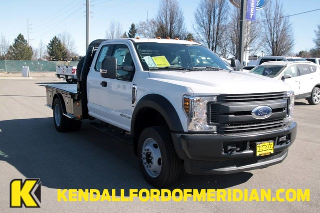 2019 F-550 Super Cab DRW 4x4,  Bedrock Platform Body #RN18822 - photo 1