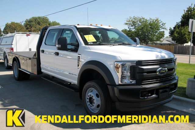2019 F-550 Crew Cab DRW 4x4,  Bedrock Granite Series Platform Body #RN19489 - photo 1