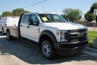2019 F-550 Crew Cab DRW 4x4,  Bedrock Granite Series Platform Body #RN19489 - photo 3