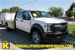 2019 F-550 Crew Cab DRW 4x4, Bedrock Platform Body #RN19489 - photo 1