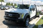 2019 F-550 Crew Cab DRW 4x4,  Bedrock Granite Series Platform Body #RN19489 - photo 5