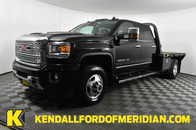 2019 Sierra 3500 Crew Cab 4x4, Platform Body #RN20157A - photo 1