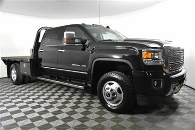 2019 Sierra 3500 Crew Cab 4x4, Platform Body #RN20157A - photo 4