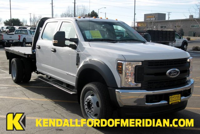 2019 F-550 Crew Cab DRW 4x4, Knapheide Platform Body #RN20258 - photo 1