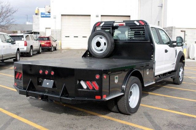 2019 F-550 Super Cab DRW 4x4, Bedrock Platform Body #RN20272 - photo 1