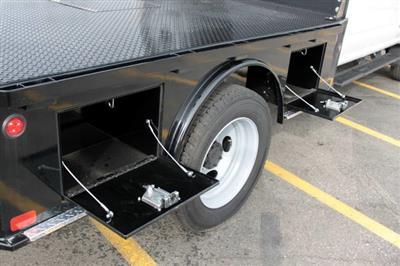 2019 Ford F-550 Super Cab DRW 4x4, Bedrock Granite Series Platform Body #RN20272 - photo 15