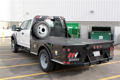 2019 Ford F-550 Super Cab DRW 4x4, Bedrock Granite Series Platform Body #RN20272 - photo 7