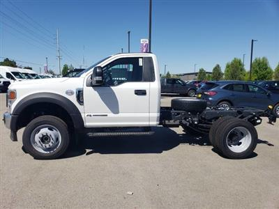 2020 Ford F-450 Regular Cab DRW 4x4, Cab Chassis #RN20744 - photo 2