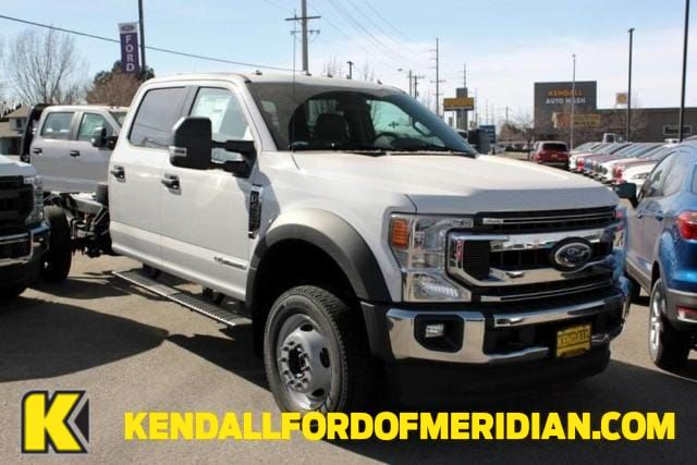 2020 Ford F-450 Crew Cab DRW 4x4, Knapheide Platform Body #RN20745 - photo 1