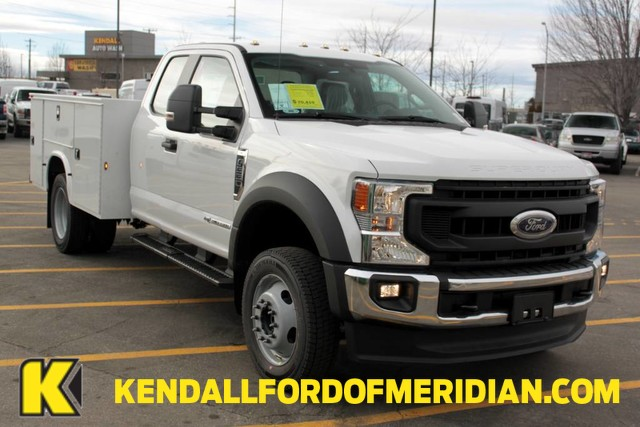 2020 Ford F-550 Super Cab DRW 4x4, Knapheide Steel Service Body #RN20787 - photo 1
