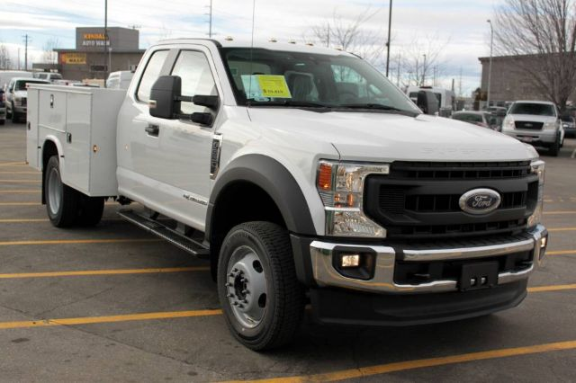 2020 Ford F-550 Super Cab DRW 4x4, Knapheide Steel Service Body #RN20787 - photo 3