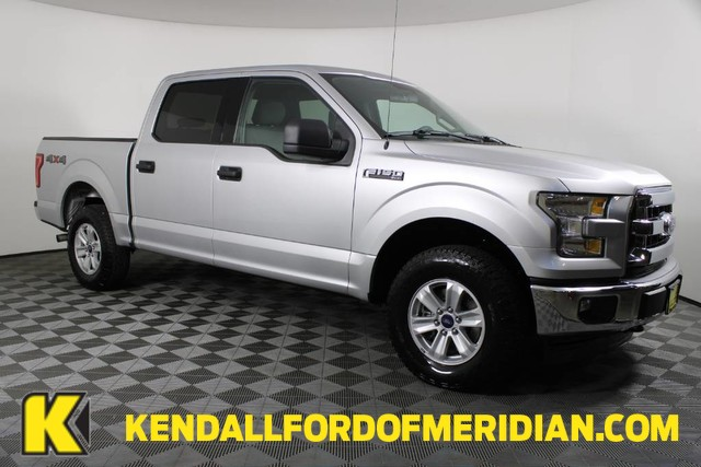 2017 Ford F-150 SuperCrew Cab 4x4, Pickup #RN21782A - photo 1
